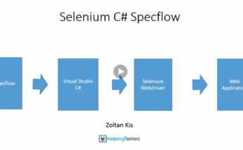 Develop Selenium framework with C# and Specflow BDD