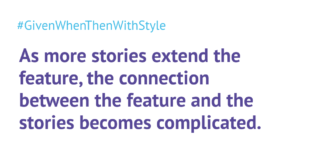 Should the feature description look like a user story?