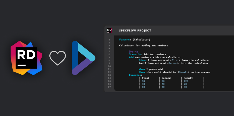 SpecFlow for Rider (Plugin) is now Available!