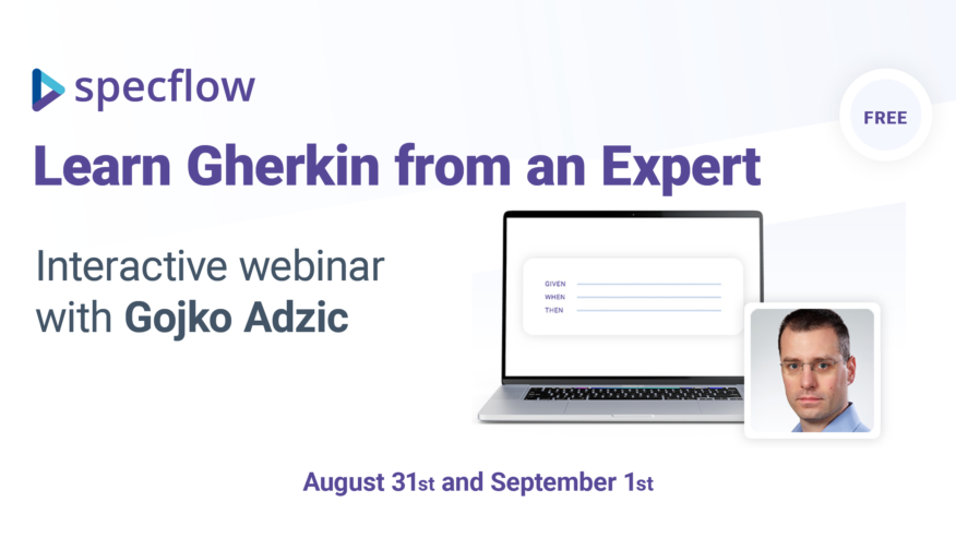 """Learn how to get the most out of Given-When-Then feature files at SpecFlow'sinteractive webinarwith Gojko Adzic, author of """"Specification by Example"""".In this session, you will learn why examples are useful and how to properly structure them.Download Slides"""